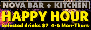 Happy Hour $7 drinks